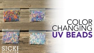 Color Changing UV Beads - Sick Science! #148
