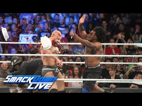 HINDI - New Day vs. The Bar & Big Show - Thanksgiving Feast Fight: SmackDown LIVE, 20 November, 2018