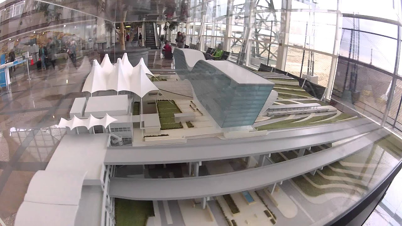 New DIA Terminal Model At Denver International Airport