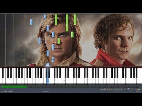 Rush OST: Lost But Won Piano [Intermediate] (with sheet and MIDI)