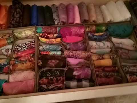 Вопрос: Как складывать шарф?