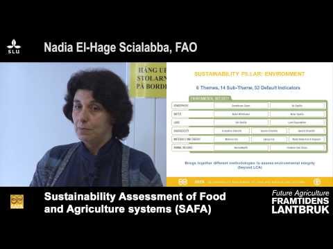 Framtidens lantbruk/Future agriculture SLU - Nadia El-Hage Scialabba