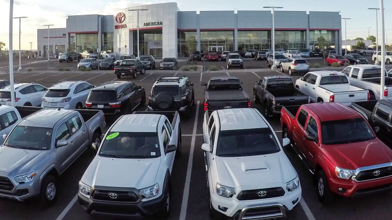 Tour our new dealership at larry h miller american toyota albuquerque