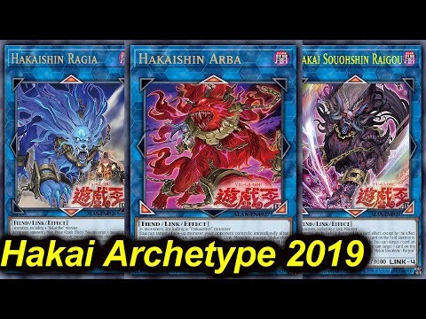 【YGOPRO】HAKAI NEW ARCHETYPE DECK 2019 (TESTING NEW CARDS)