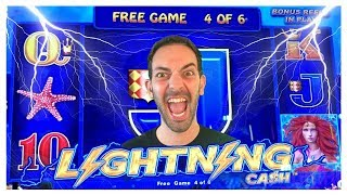 💰 HIGH Limit ⚡Lightning Link Machine at $5 Bet ✦ San Manuel Casino ✦ Slots w Brian Christopher #AD