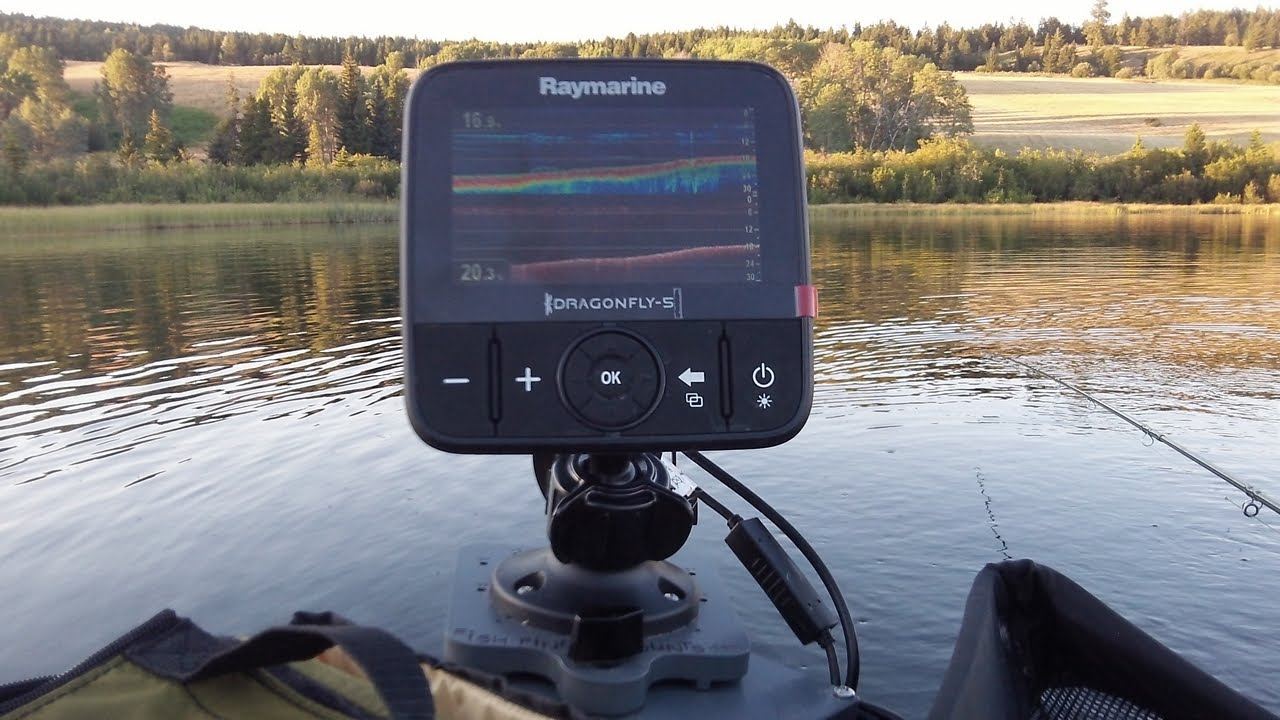 Raymarine Dragonfly 5 Dvs Unboxing And Assembly