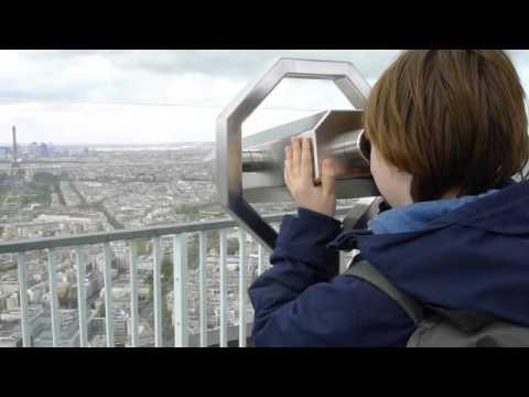 Jamie at the Montparnasse Tower - Paris