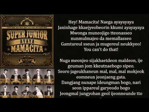 Super Junior - Mamacita Lyrics