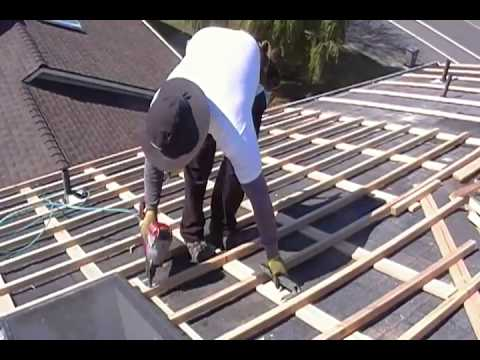 Counter Batten And Batten Over Asphalt Shingles 7 Youtube