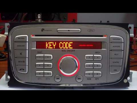 Recuperar Code Código Radio Cd Original Ford Focus