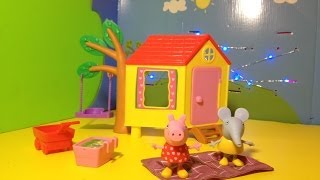 PEPPA PIG Tree House with Emily Elephant a Video Toy Parody