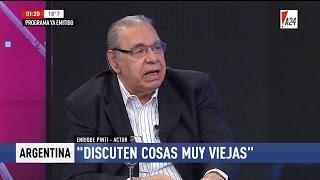 """Enrique Pinti en """"Jorge a las 21"""", de Jorge Rial - 18/04/17"""