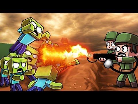 Minecraft | WW2 ZOMBIE APOCALYPSE CHALLENGE! (World War 2 Zombies)