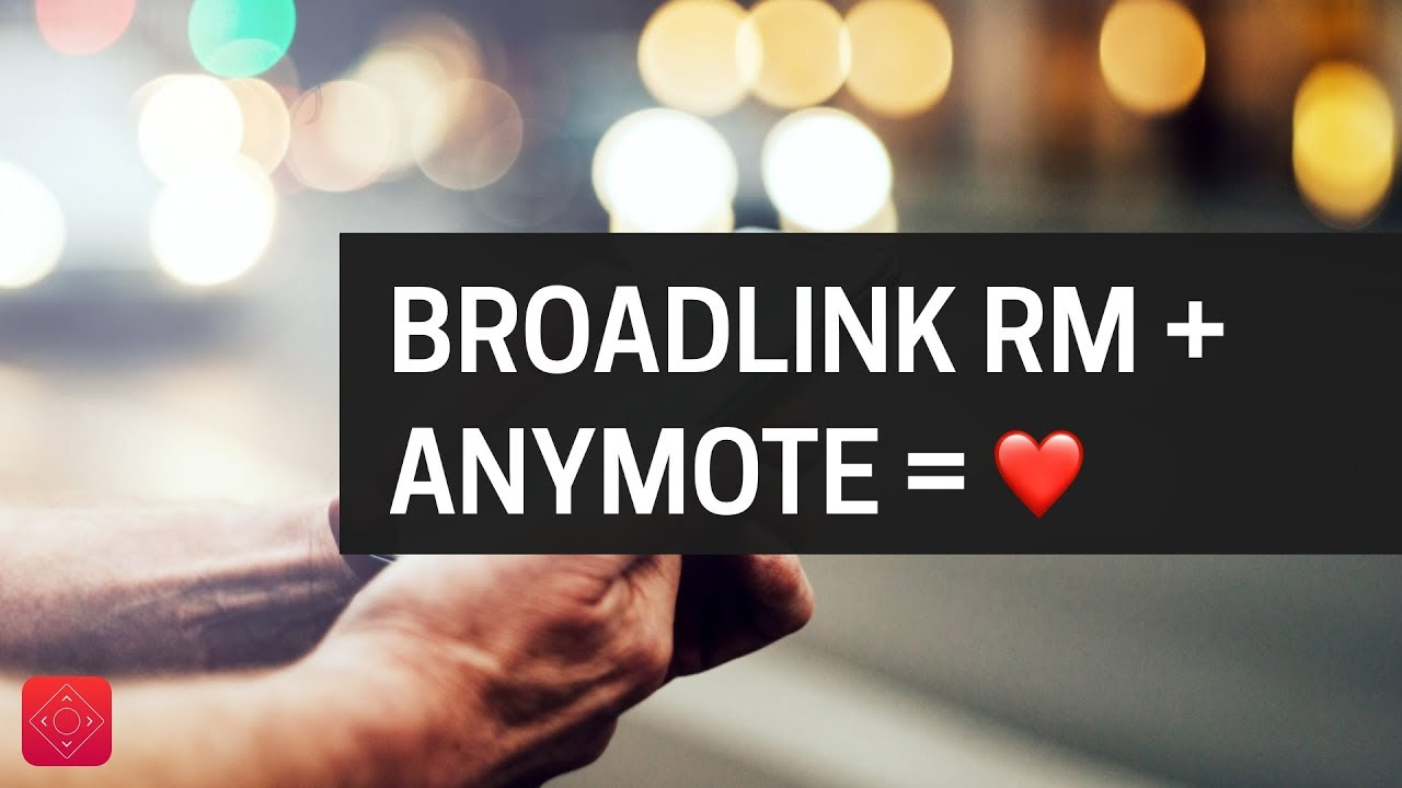 Using Broadlink RM with AnyMote