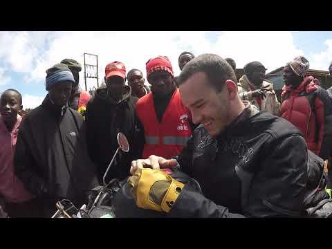 Motorcycle trip around Kenya and Uganda
