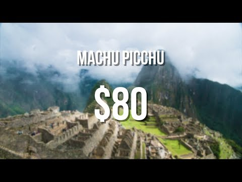 How to Travel to Machu Picchu for cheap