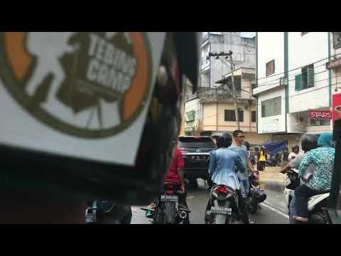 Hampir tenggelam kota Tebing tinggi, sumatera utara