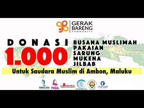 1.000 Paket Sandang untuk Ambon