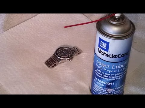 Rolex Submariner bezel lubrication by froggy