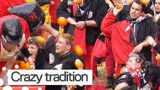 Battle of the Oranges Carnival Takes Place in Italy