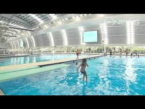 Aquatic centre open