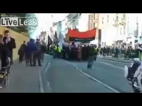 Muslims Marching the Streets of Denmark