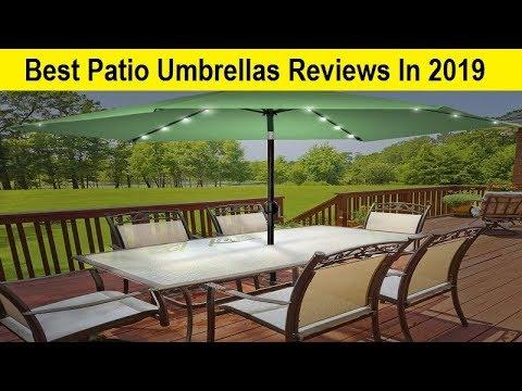 Top 3 Best Patio Umbrellas Reviews In 2019