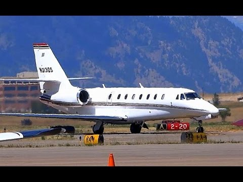Cessna Citation Sovereign - Arrival and Shutdown
