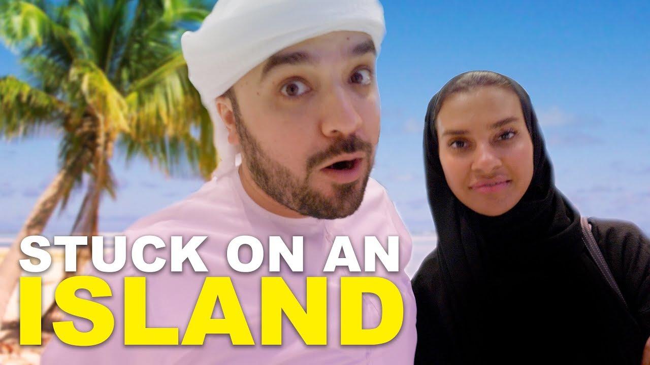 STUCK ON AN ISLAND