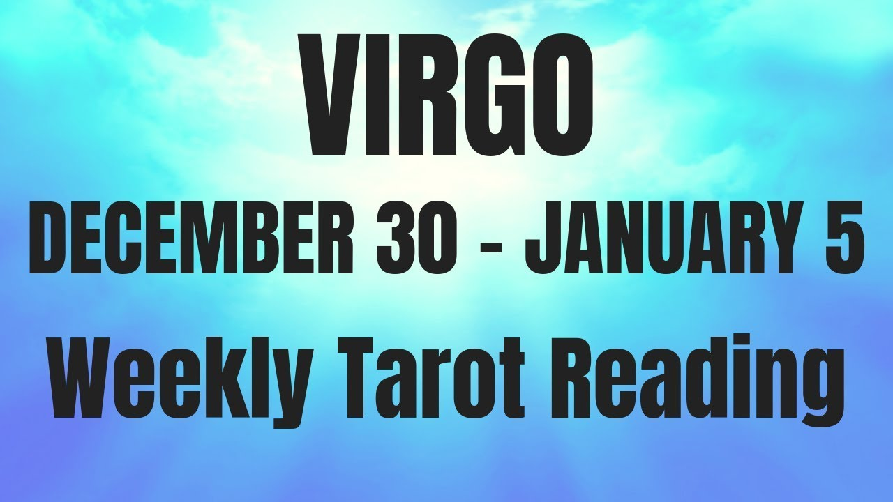 virgo weekly tarot december 14 2019