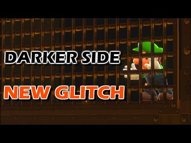 New Glitch - Out of Bounds in Darker Side | Super Mario