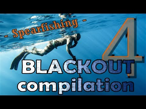 Freediving BLACKOUT Compilation No. 4 - Spearfishing