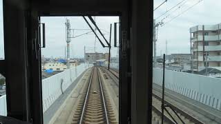 JR西日本223系「関空快速」その7(車内より)