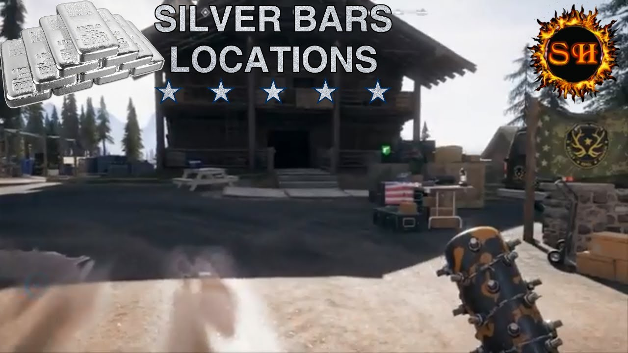 Polo Outlet Sarcoth Haven Far Cry 5 Silver Bars Location Elk Jaw Lodge