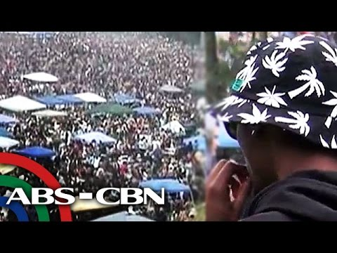 Halos 10,000 katao, sabay-sabay na nag-marijuana sa San Francisco