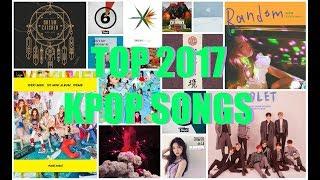 Umu's Top 17 KPOP Songs of 2017