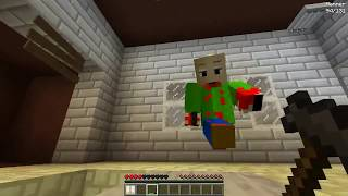 NOOB VS CREEPYPASTA CASA BALDI MINECRAFT TROLL + ROLEPLAY