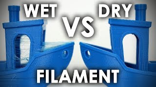 WHY you NEED TO DRY your FILAMENTS!