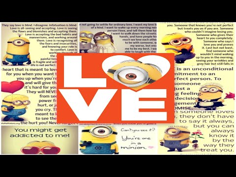 Love Quotes Funny Minion