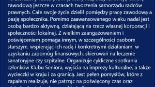 Laureat Kryształowego Serca Radcy Prawnego z OIRP we Wrocławiu