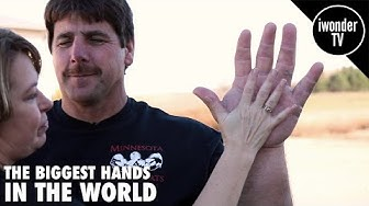 THE BIGGEST HANDS IN THE WORLD | THE REAL LIFE POPEYE