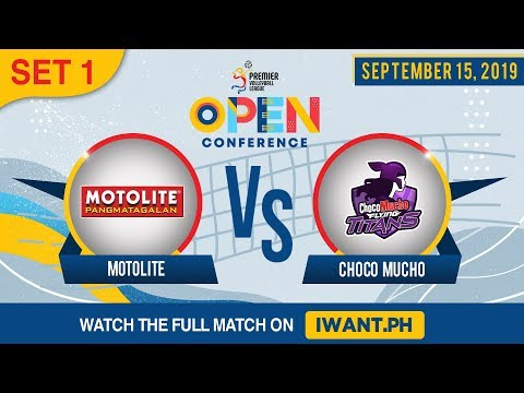 SET 1 | Motolite Vs. Choco Mucho | September 15, 2019 (Watch The Full Game On IWant.ph)