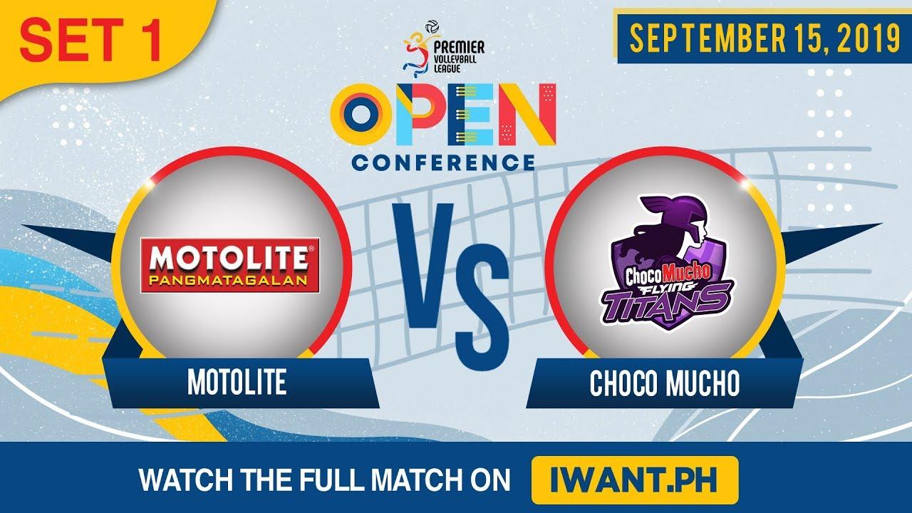SET 1 | Motolite vs. Choco Mucho | September 15, 2019 (Watch the full game on iWant.ph)