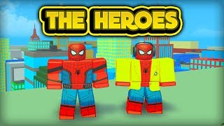 NEW SPIDERMAN EVENT! (ROBLOX Heroes Of Robloxia)