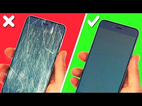 Как очистить стекло телефона от пыли