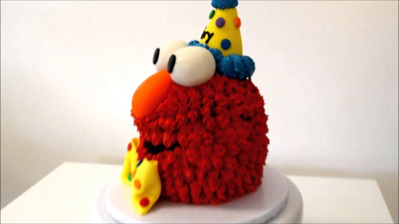 Elmo Cake Example Elmo Cake Decorating Idea Youtube