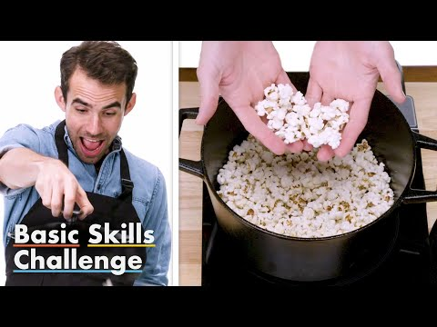 50 People Try to Make Stovetop Popcorn | Epicurious