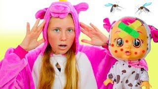 Doll is Sick - Miss Polly had a Dolly,  Nursery Rhymes & Kids Song