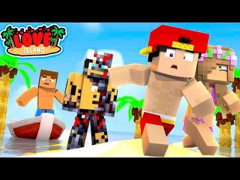 Minecraft LOVE ISLAND - DONNY ABANDONS EVERYONE & RAVEN THE  EVIL ROBOT IS ON THE LOOSE!!