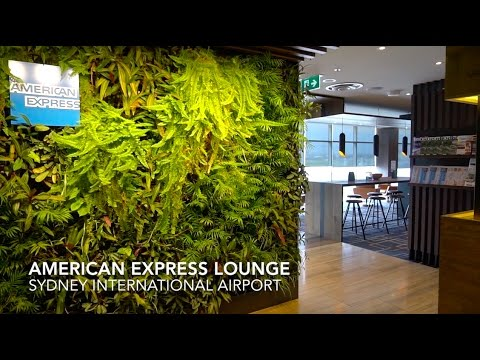 Sydney Airport American Express Lounge Review